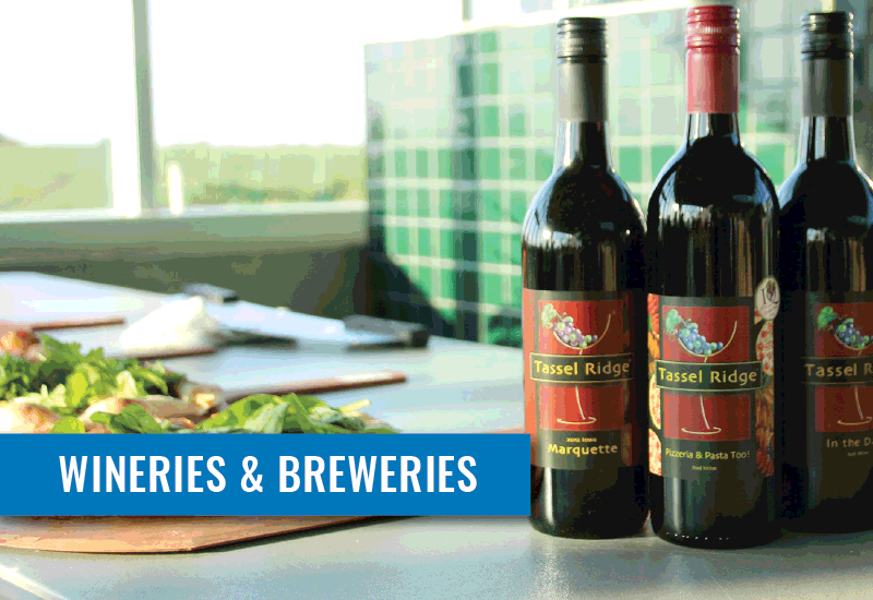 Central Iowa Tourism Region | Wineries and Breweries