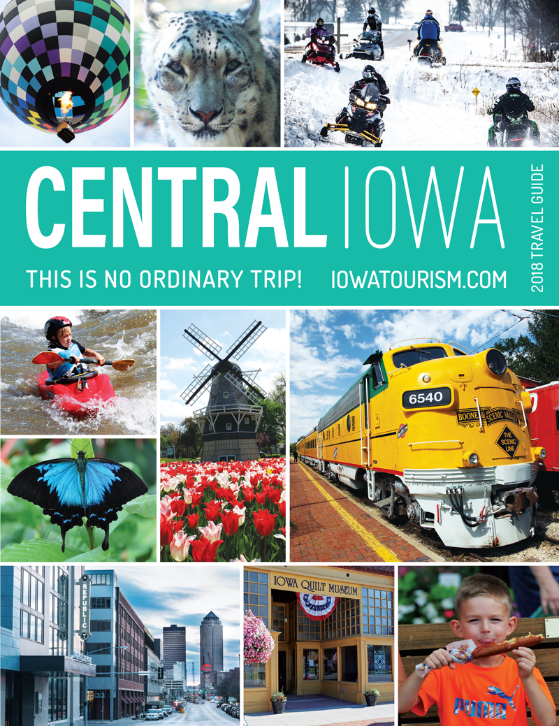 Central Iowa Tourism Region | 2017 Travel Guide